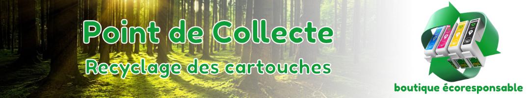 point collecte cartouches